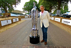 Borg-Warner Trophy at the Goodwood Festival of Speed with the Earl of March