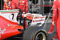 Ferrari SF70H: Heck
