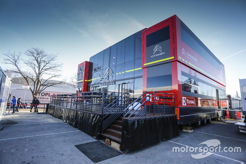 Citroën World Rally Team hospitality