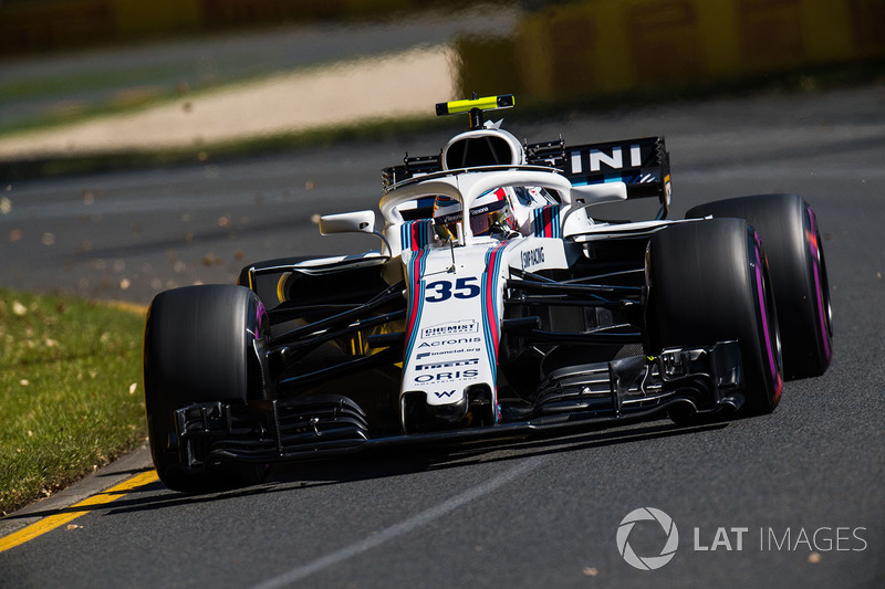 Ausfall: Sergei Sirotkin, Williams FW41