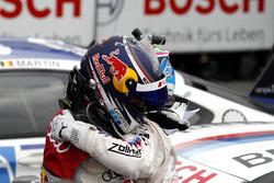 Mattias Ekström, Audi Sport Team Abt Sportsline, Audi A5 DTM und Bruno Spengler, BMW Team RBM, BMW M4 DTM im Parc Ferme