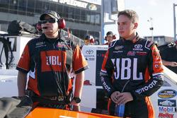 Christopher Bell, Kyle Busch Motorsports Toyota y Ryan Fugle, Kyle Busch Motorsports