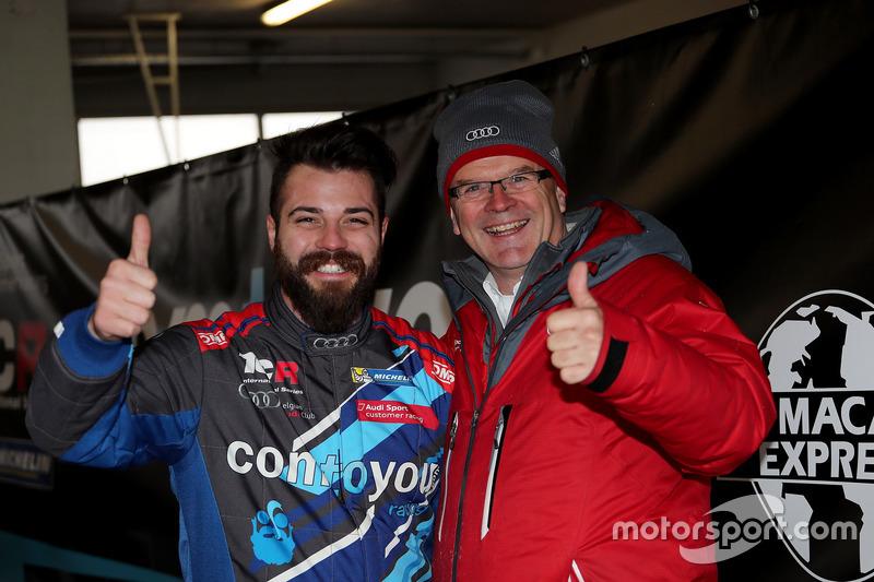 Stefano Comini, Comtoyou Racing, Audi RS3 LMS, Detlef Schmidt, Audi Sport
