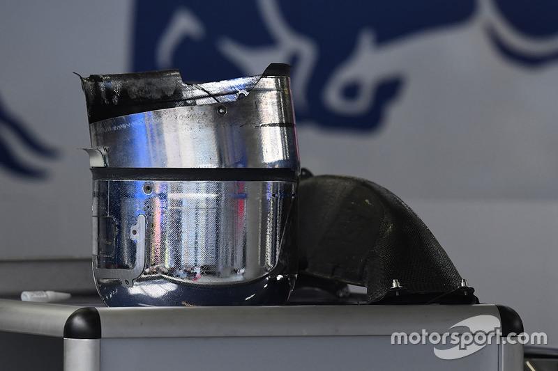 Toro Rosso STR12: Bremstrommeln