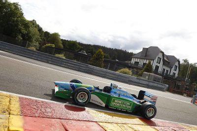 Mick Schumacher testing