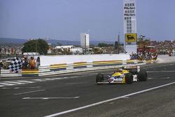 Nigel Mansell, Williams FW11B Honda
