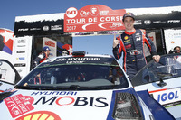 Winner Thierry Neuville, Hyundai i20 Coupe WRC, Hyundai Motorsport
