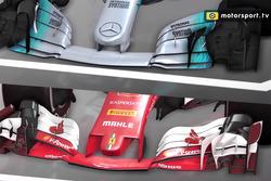 Video-Analyse: Ferrari vs. Mercedes