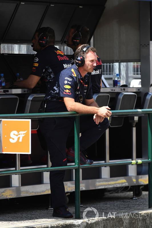 Крістіан Хорнер, керівник Red Bull Racing RB13