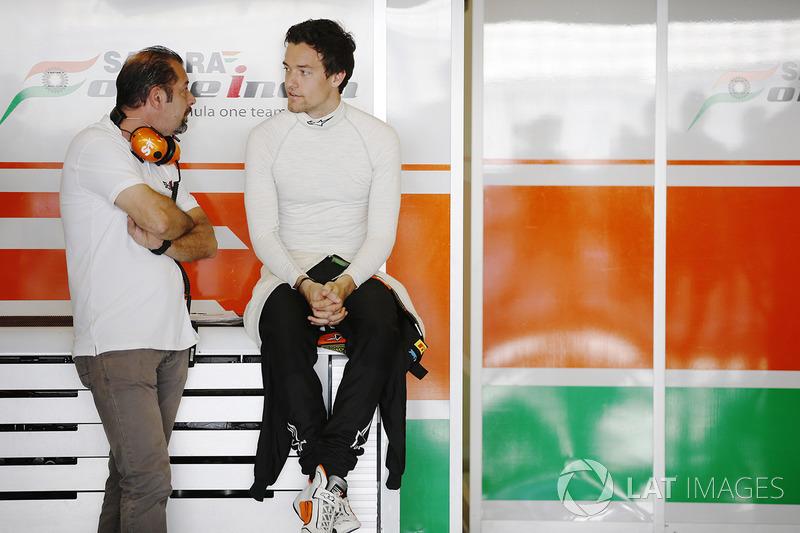 Тесты с Force India