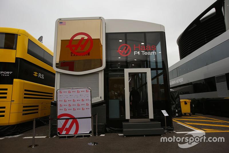 Моторхоум Haas F1