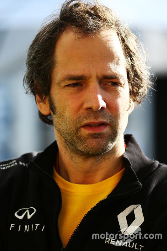 Ciaron Pilbeam, Renault Sport F1 Team, Renningenieur