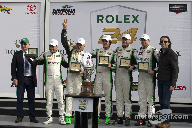 Ganador, GTD, #28 Alegra Motorsports Porsche 911 GT3 R: Daniel Morad, Jesse Lazare, Carlos de Quesad