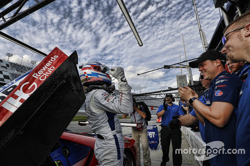 Pole position GTLM de Joey Hand, Ford Performance Chip Ganassi Racing