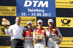 Podium: 1. Mattias Ekström, Audi Sport Team Abt Sportsline, Audi A5 DTM; 2. Jamie Green, Audi Sport Team Rosberg, Audi RS 5 DTM; 3. Nico Müller, Audi Sport Team Abt Sportsline, Audi RS 5 DTM, Thomas Biermaier, Team Abt Sportsline