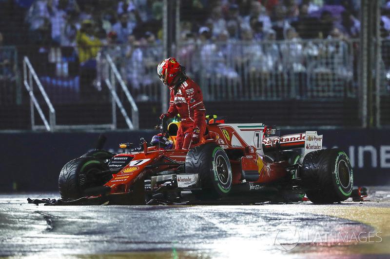 Кімі Райкконен, Ferrari SF70H, Макс Ферстаппен, Red Bull Racing RB13