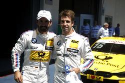 Timo Glock, BMW Team RMG, BMW M4 DTM und António Félix da Costa, BMW Team Schnitzer, BMW M4 DTM