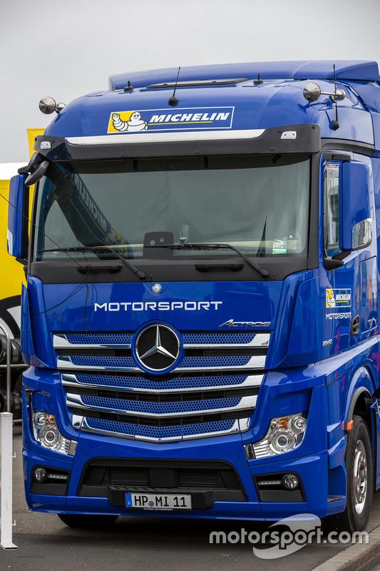 Michelin tire transporter