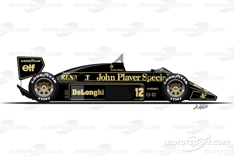 1986 - La Lotus 98T
