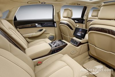 Präsentation: Audi A8L extended