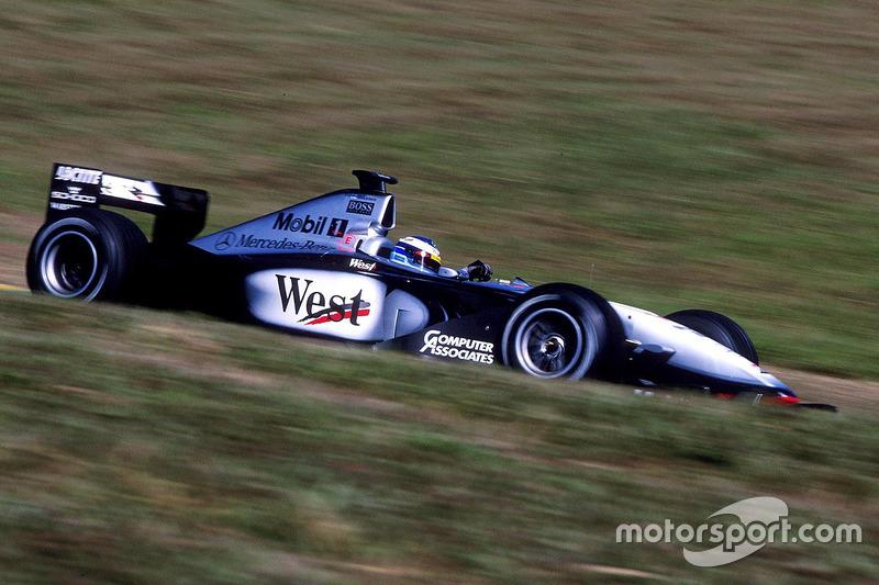 Ganador del GP de Brasil 1999: Mika Hakkinen, McLaren