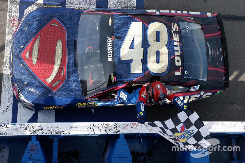 4. Jimmie Johnson, Hendrick Motorsports Chevrolet race winner