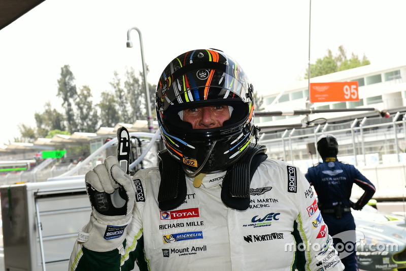 LM GTE Am pole: #98 Aston Martin Racing Aston Martin Vantage GTE: Paul Dalla Lana, Pedro Lamy, Mathi