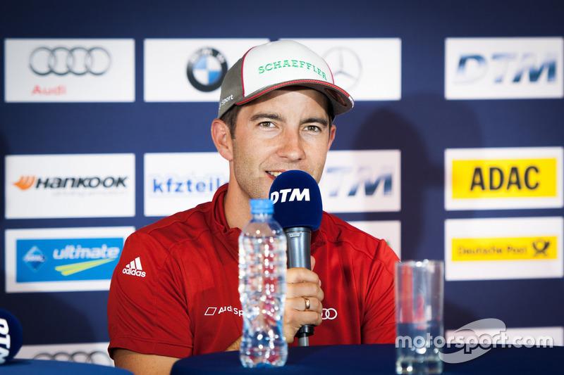 Conferenza stampa: Mike Rockenfeller, Audi Sport Team Phoenix, Audi RS 5 DTM