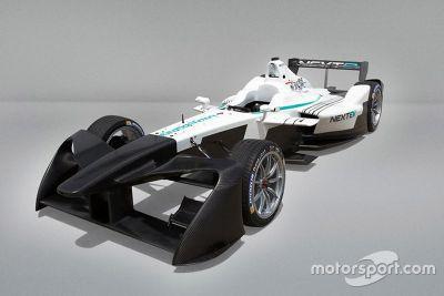 Frontflügel der Formel E ab 2016/2017