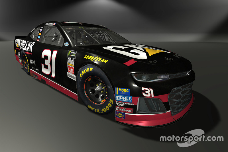 Ryan Newman, Richard Childress Racing, Chevrolet Camaro - NASCAR Heat 3 skin
