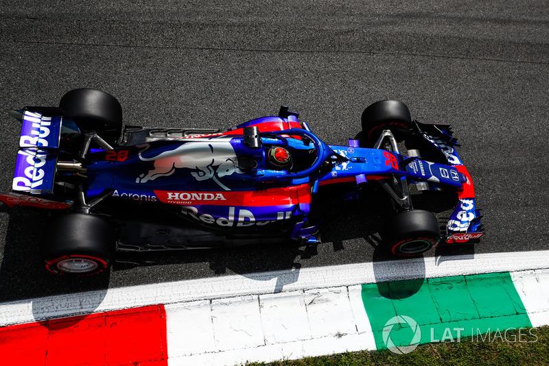 20 місце — Брендон Хартлі, Toro Rosso. Умовний бал — 2,33