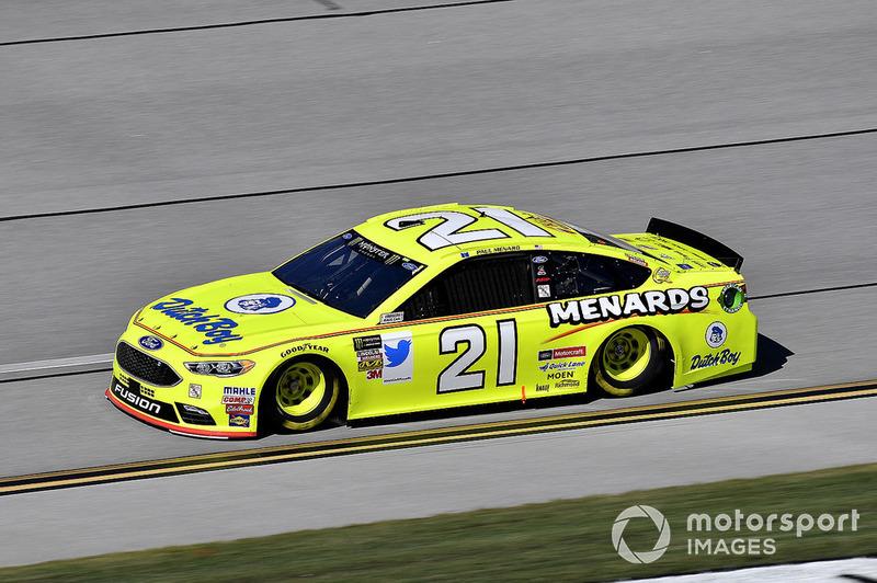 30. Paul Menard, Wood Brothers Racing, Ford Fusion Menards / Dutch Boy