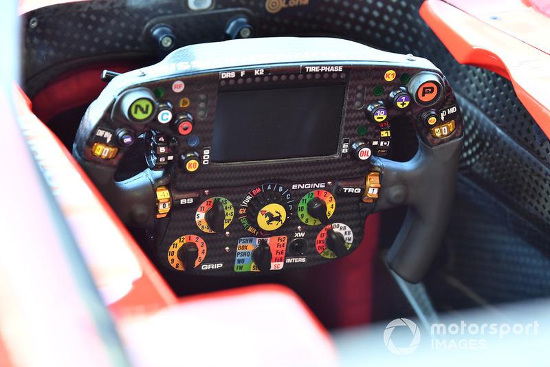 Volant de la Ferrari SF71H