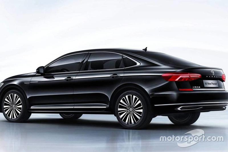 Volkswagen Passat 2018 hjre (версія для Китаю)