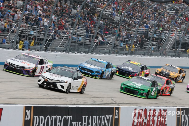 Toyota, Chevrolet and Ford are NASCAR's current manufacturers
