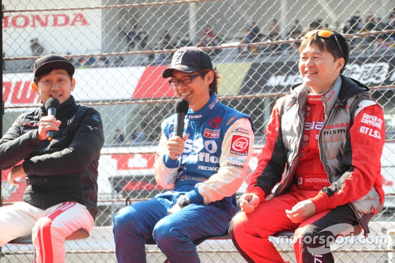 Satoshi Motoyama, Juichi Wakisaka, Ryo Michigami