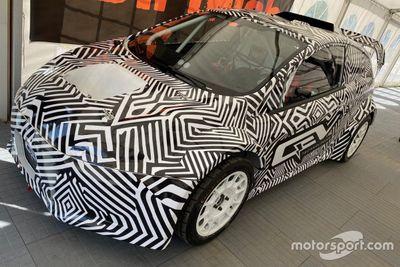 FIA Junior eRX car unveil