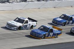Chase Briscoe, Brad Keselowski Racing Ford Ryan Truex, Hattori Racing Enterprises Toyota
