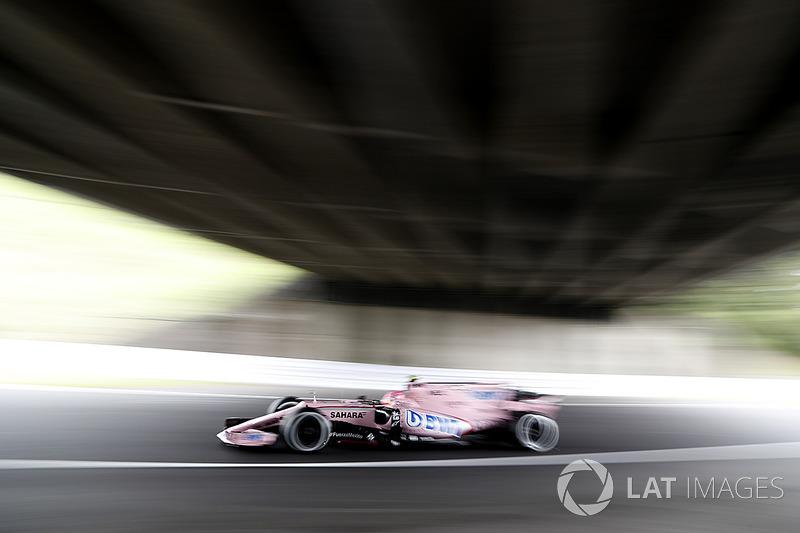 7. Esteban Ocon, Sahara Force India VJM10
