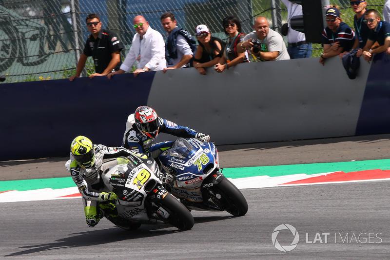 Альваро Баутіста, Aspar Racing Team, Лоріс Баз, Avintia Racing