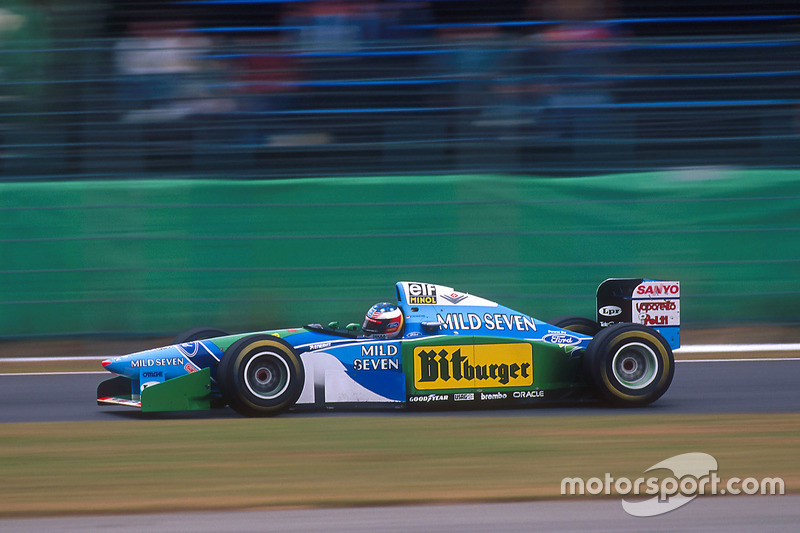 Міхаель Шумахер, Benetton