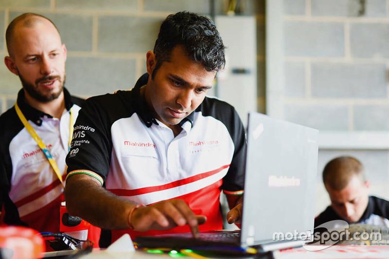 Vinit Patel, Mahindra Racing Chief Engineer