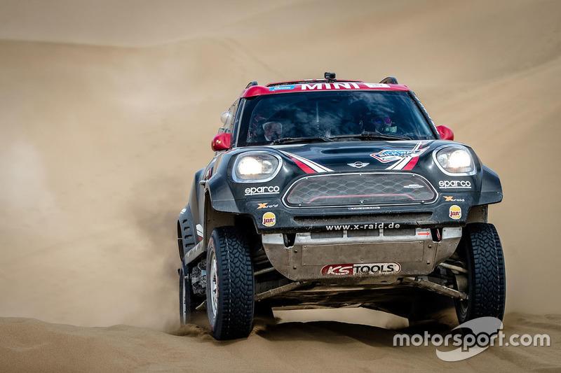 #101 X-Raid Team Mini: Yazeed Al-Rajhi, Tom Colsoul