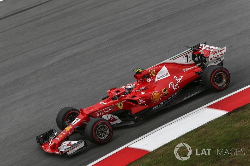 2. Kimi Räikkönen, Ferrari SF70H