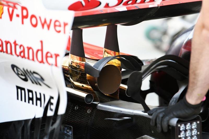 Ferrari SF70H: Monkey-Seat
