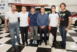Nelson Piquet Jr., Nelson Piquet, Pedro Piquet