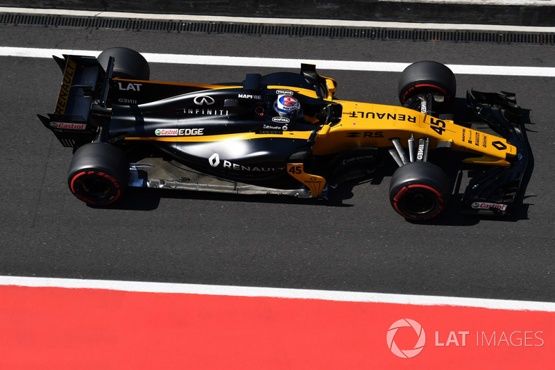 Николя Латифи, Renault Sport F1 Team RS17