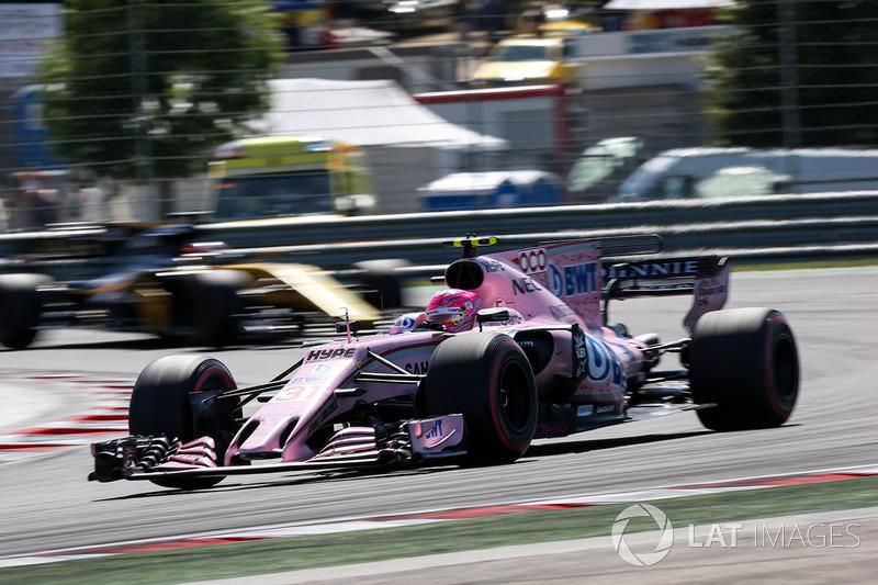 7 місце — Естебан Окон (Франція, Force India) — коефіцієнт 501,00