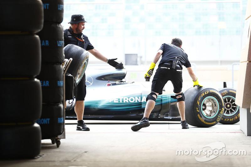 Teammitglieder: Mercedes AMG F1