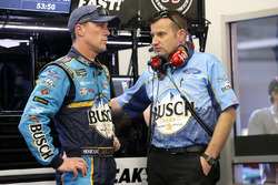 Kevin Harvick, Stewart-Haas Racing Ford, crew chief Rodney Childers